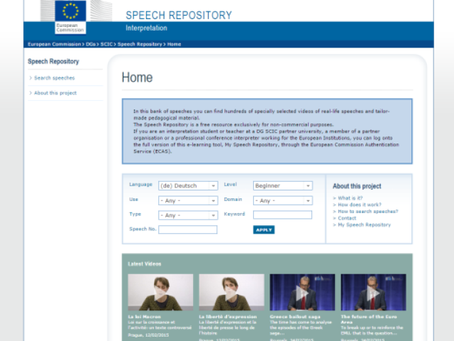 speechrepository